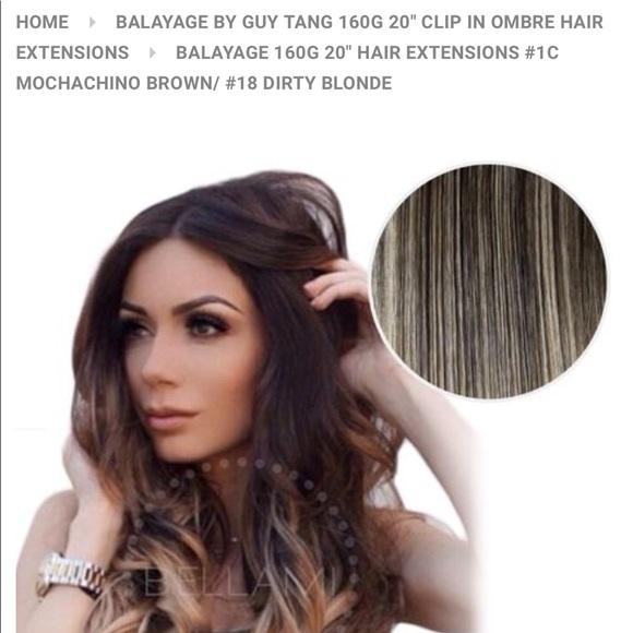 Bellami Other - Bellami Guy Tang Hair Extensions 1c   18 530ba7fb68